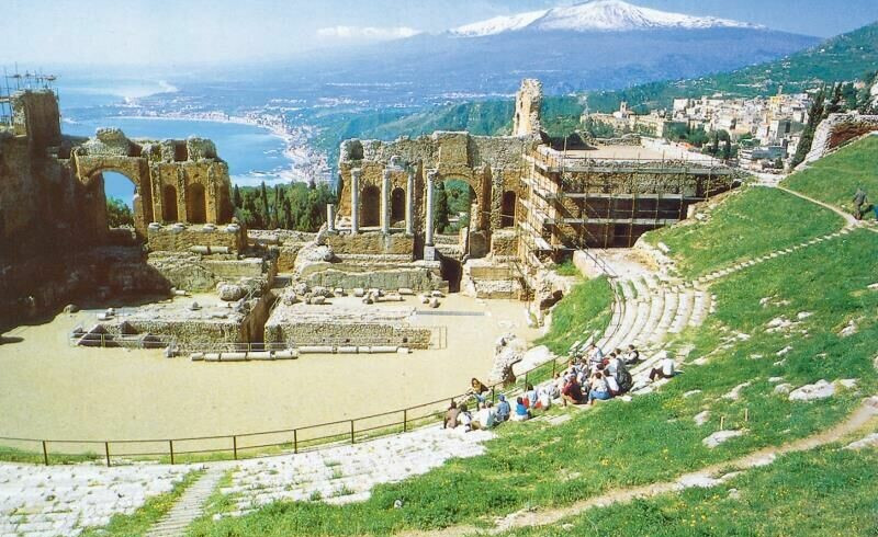 Taormina, Theater